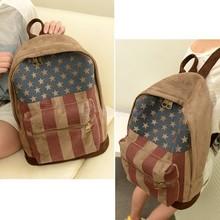 On Sale School Bags travel bags Backpacks Unisex US/UK Flag Bag women backpack women bag Casual women backpack SV18 SV008572(China (Mainland))