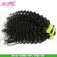 "Malaysian Virgin hair deep curly human hair 3pcs/lot ( 10""-30"") ,natural color cheap price hair extensions Free shipping"