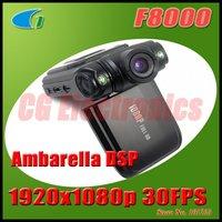 100% Original F8000 5.0MP Mini Full HD 1920x1080p 30FPS Portable Car Camera Camcorder w/2.0' LCD/2-LEDs/120 Degrees Lens/HDMI