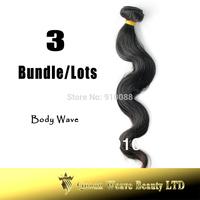 Free Shipping 12''~34'' Body Wave 3Bundle/lots Weave Queen Brazilian Virgin Hair 5A Grade Cuticle Aligned Virgin Hair Queen Hair