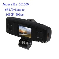 The  full HD 1920*1080P 30fps Amberalla A2 CPU GS1000 car dvr with GPS logger +H.264 + 4 IR light 120 Degree