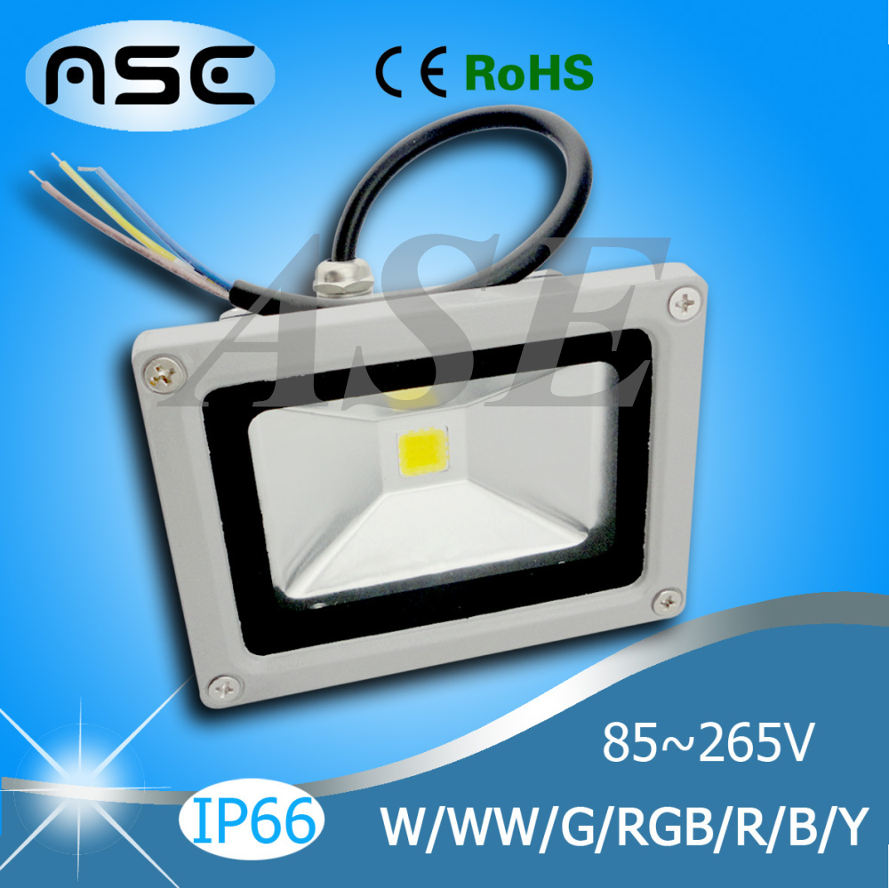 Wholesale Waterproof 10W/20W/30W/50W/70W/100W Outdoor LED Flood Light Floodlight Warm/Cool White/RGB LED Outdoor Lighting Lamp(China (Mainland))