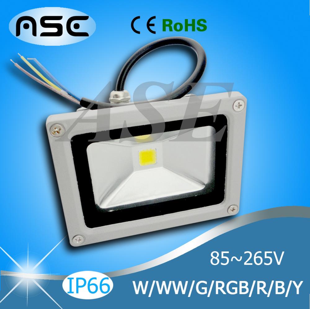 Wholesale Waterproof 10W/20W/30W/50W/70W/100W Outdoor LED Flood Light Floodlight Warm/Cool White/RGB LED Outdoor Lighting Lamp(China (Mainland))