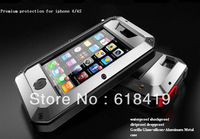 2013 new Tak*tik aluminum case For iphone 4 4S 5 5g waterproof Shock dropproof dirtproof back cases For apple i phone 5 5g