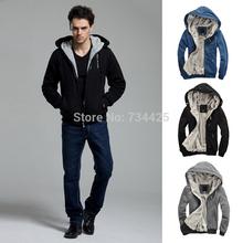 5XL Big yards 2014 autumn and winter casual men hoodies and sweatshirts hooded jackets coat warm plus thick fleece hoodies men's(China (Mainland))