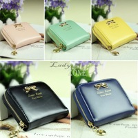 High Quality Fashion Women New Colorful Lady Lovely Purse Clutch Women Wallets Small Bag Purses PU Leather Card Hold b7 SV002747