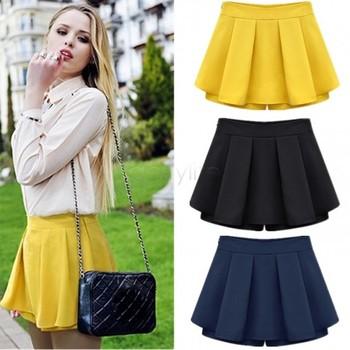 2015 Women Shorts Summer Chiffon Loose Casual Fashion Sexy Short Plus Size Women Shorts 22