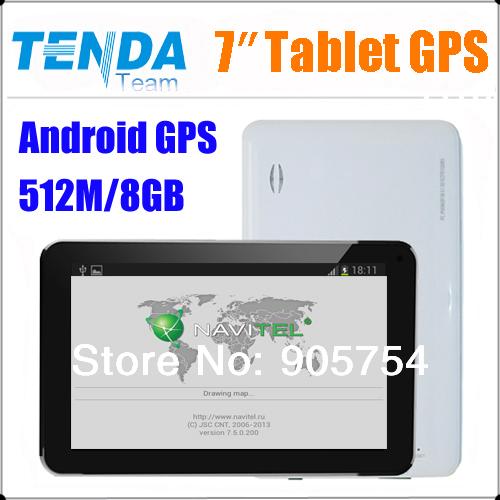 Freelander PD100&7 inch car Android GPS navigation +A13 1.2GHZ+DDR512M+Capacitive screen+Android4.0+8GB Naivtel7.5 map(China (Mainland))