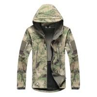 Men Outdoor Hunting Hiking Jacket Camping Waterproof Coat  (Casaco )Color:Black/Army Green/Gray/FG/Khaki/ACU/CP  XS - XXXL