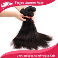 "Free shipping.wholesale virgin brazilian hair extension  brazilian straight hair 8""-34"" 10pcs/ lot"