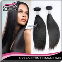 Brazilian Virgin Hair Straight 3pcs 100% 6A Unprocessed natural Virgin Hair High Quality Cheap Human Hair Weave Straight