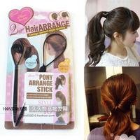 New Style Fashion Black Pull Hair Needle Hair Arrange Twist Hair Bun Clip Free Shipping Wholesale