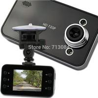 Hot Selling K6000 car dvr camera HD 720P 30FPS 2.4 TFT LCD Vehicle Video Recorder Dash Cam car black box Free shipping CAR DVR