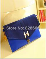 2014 vintage bag envelope bag  women's handbag one shoulder day clutch bag