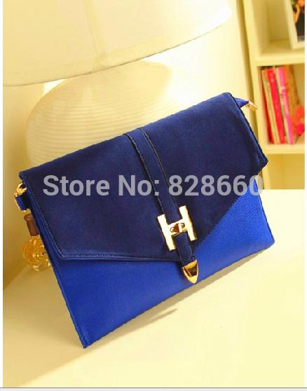 2015 vintage bag envelope bag women's handbag one shoulder day clutch bag(China (Mainland))