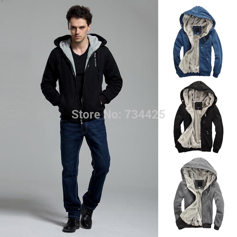 M-6XL,2014 winter casual men hoodies hoodi sweatshirt hooded jackets coat man hoodi warm plus thick fleece hoodies men's(China (Mainland))