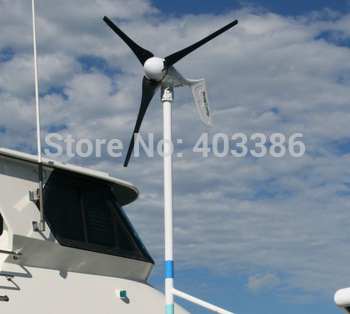 400W wind turbine generator,12V/24V/48V optional,Free shipping!