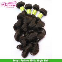 "Beautiful Berrys hair Malaysian Virgin hair deep loose Wave Top Quality hair bundles 3pcslot(12""-30"") cheap price Human hair"