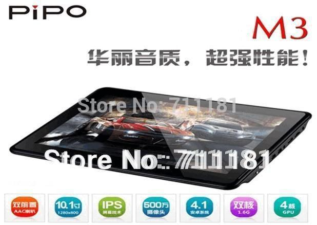 Hot Cheap Sale Pipo M3 Dual core RK3066 3G/WCDMA SIM Card Slot HDMI Bluetooth 10.1 inch IPS Capactive Tablet PC Andriod 4.1 os(China (Mainland))