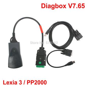 2014 Lexia3 Lexia 3 V48 Citroen Peugeot diagnostic tool Lexia-3 PP2000 V25 With New Diagbox V7.49 Arrival