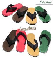 2014 New Arrival Spring/Summer/Fall Man Male Men Sport Beach Flip Flops Slippers Sandals Shoes 4 color b4 SV005596