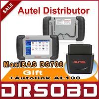 2014 Original Autel MaxiDAS DS708 Universal Auto Diagnostic Scan Tool DS 708 Free online update + Multi-Language + Free Shipping