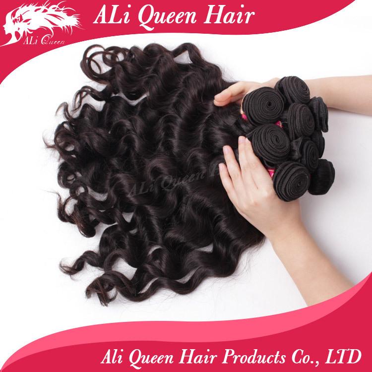 ali queen hair products unprocessed virgin brazilian hair wholesale 10pcs 8-34 spot supplies human hair wholsale 10 pieces(China (Mainland))