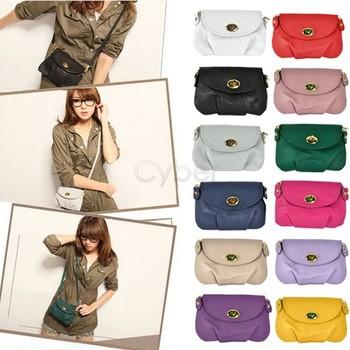 New Fashion Women's Purses Handbags Satchel Shoulder PU Leather Messenger Bag Cross Body Bags Christmas Gift 24