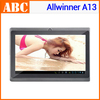 Drop Shipping 7 inch Tablet PC Android Allwinner A13 4GB ROM WIFI Capacitive Screen OTG 512M RAM Camera TF support Russian