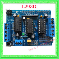 Motor Drive Shield L293D for Arduino Duemilanove Mega / UNO,Free shipping