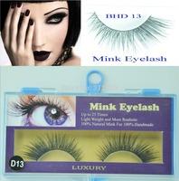 5 pairs Freeshipping MINK FUR Eye Lash extension, Artificial Fake False eyelashes BHD 13