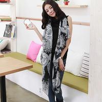 Free Shipping !2014 New! Temperament Excellent ,  Korean Version Blooming Lotus Fashion  All seasons Women Scarf  Shawl. SJ110