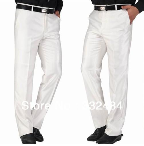 Mens White Dress Pants