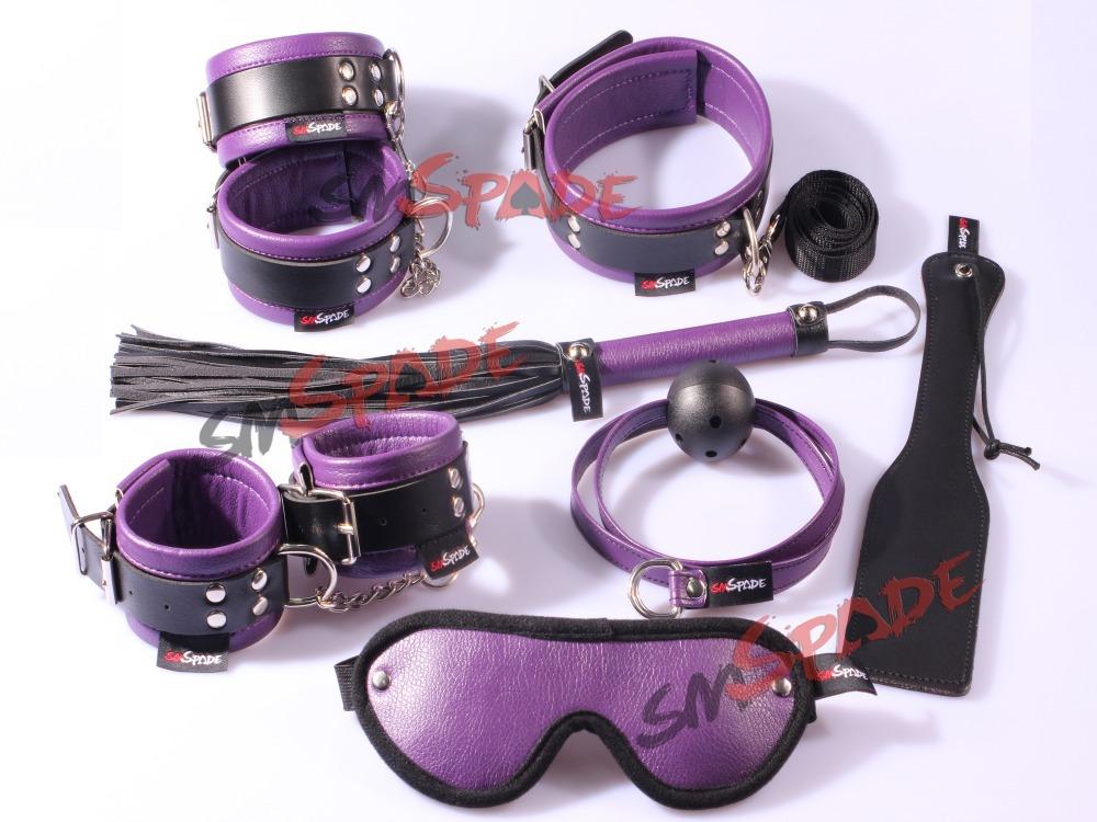 pu sex restraints set promotion bedroom sex restraint hand cuffs