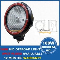 "2pcs 9-32V 2 PCS 75w 100W HID 9"" Spot Beam truck/Boat fog lamp ,hid driving light ,HID off road light,hid xenon work light"