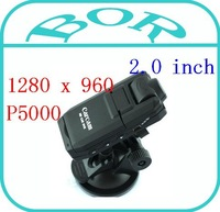 FREE SHIPPING 1280 x 960 resolution video Camera Recorder Car Dvr vehicle carcam Camcorder P5000