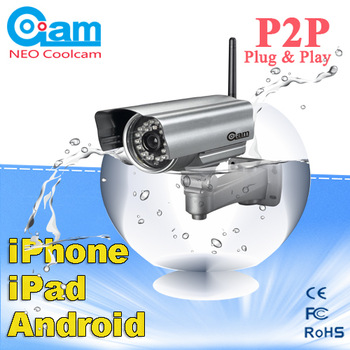 NEO COOLCAM Outdoor Wireless WiFi Night Vision IP Network Security CCTV IR Camera 6mm Lens