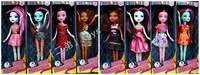 Best selling 2013 new style 28 cm monster high fashion dolls, combined with optional activity 8oc/lot with box free shipping