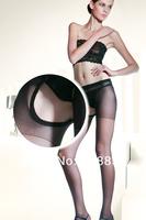Free shipping  Sexy jacquard open files even  socks Sexy silk women lady