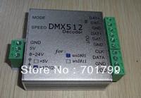 DC12V input DMX to WS2801 SPI Converter;512 channel output,max170 pixels controlled