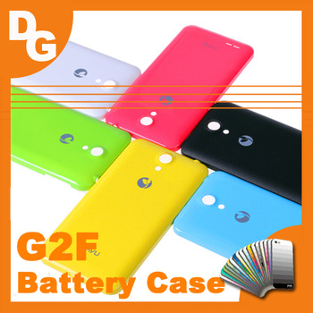 Free Shipping Original PC 2200 mAh Battery Cover For JIAYU G2F MT6582 Quad-Core Android Phone