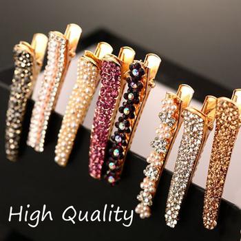 Hair jewelry 2014 Fashion tiara Women Hair Accessories Rhinestone hairpins Pearl Barrettes flower clips for hair F023