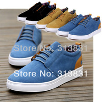hot sale Mens Stylish Fashion Sneakers Casual Shoes Frosted Lace up Flats Loafer  shoes free shipping US 6.5-10 SS26