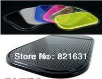 Free Shipping Wholesale Powerful Silica Gel Magic Sticky Pad Anti-Slip Non Slip Mat for Car dvr GPS - 20pcs/lot