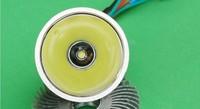 Free ship led motorcycle headlamps 12W LED XML T6 1000LM 12W motorcycle LED light/12W electrombile LED light bicycle headlight