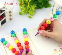 Freeshipping korea stationery candied fruit crayon cartoon crayon pencil novelty pen creative pen 10pcs/lot