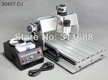 110V / 220V CNC 3040T-DJ Router Engraver Drilling Milling Machine 11000rpm clm Router Engraver Milling Drilling Cutting Machine