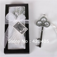 Free shipping 2pcs/ lot Stainless steel Creative Crown bottle  opener in gift box drinkware christmas supplies
