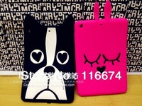Fashion 3D Dog and Rabbit Marc Creatures Cover Case for iPad Mini With Retail Package and Free Gift,Free Shpping!!