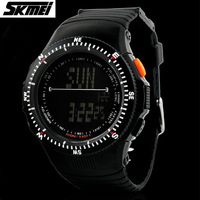 Skmei 50M Waterproof Sports Brand Watch Men's Shock Resistant Hours Wristwatches Multifunctional Military LED Fashion Watches